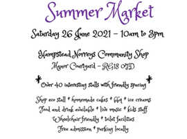 Summer Market at Hampstead Norreys Community Shop!