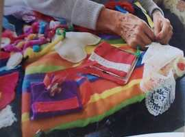 Alzheimer's and Dementia fidget aprons and quilts