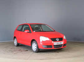 Volkswagen Polo, 2006 (56) Red Hatchback, Manual Diesel, 115,007 miles