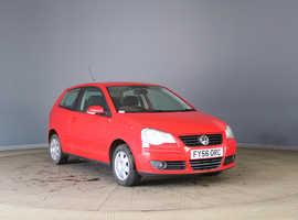 Volkswagen Polo, 2006 (56) Red Hatchback, Manual Diesel, 115,007 miles