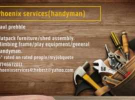 Flat pack assembly,general handyman