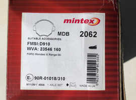 MINTEX MDB 2062 FRONT BRAKE PADS FORD MONDEO Mk3 & JAGUAR X-TYPE & Est(i will check if they fit?)