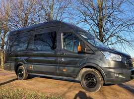 Ford transit L4H3 new camper van conversion, 44K ,FSH