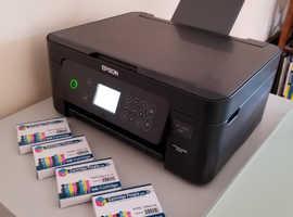 Epson Expression Home XP-4100 Printer, Scanner, Copier + Extra Set of Ink Cartridges