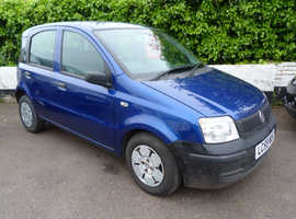 Fiat Panda, 2009 (59) Blue Hatchback, Manual Petrol, 52,000 miles