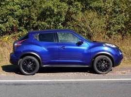 Nissan Juke, 2014 (64) Blue Hatchback, Manual Diesel, 53,000 miles, (01443) 831670