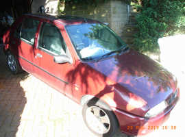 Ford Fiesta, 1997 (R) Red 5 door Hatchback, Manual Petrol, 12 months MOT