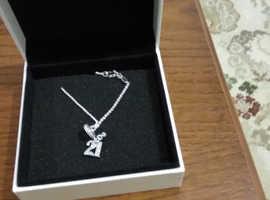 21st charm pandora necklace