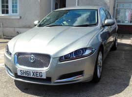 Jaguar XF Luxury , 2011 (61) Gold Saloon, Automatic Diesel, 56,500 miles