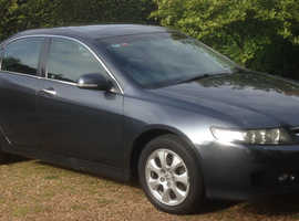 Honda Accord, 2006 (06) Black Saloon, Manual Diesel, EX trim, 153,205 miles