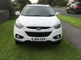 Hyundai Ix35, 2014 (64) White Estate, Manual Diesel, 6,054,612 miles
