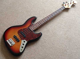 90`s Jazz style Bass guitar Made in Korea