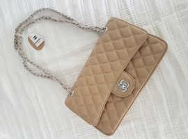 Woman's Hand Bag Beige Chanel Prada LV Christian Dior Brand New