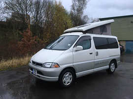 TOYOTA GRANVIA 2.7I AUTO ELEVATING ROOF 4 BERTH RARE TWIN SINGLE BED MODEL by Wellhouse