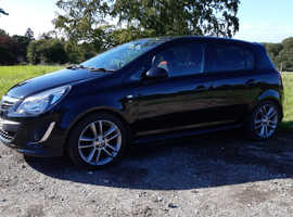 Vauxhall Corsa, 2014 (14) Black Hatchback, Manual Petrol, 60,000 miles