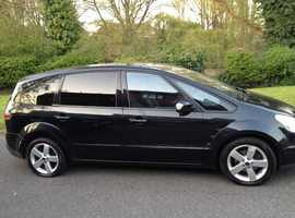 FORD S-MAX 2.0 TDCI TITANIUM 7 SEATER 2009 1 LADY OWNER FROM NEW MOT & FULL FORD MAIN DEALER HISTORY