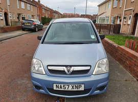 Vauxhall Meriva, 2007 (57) Blue MPV, Manual Petrol, 100,933 miles