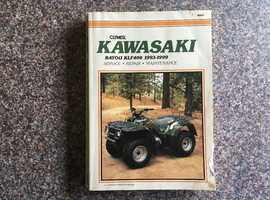 Kawasaki KLF 400 Service-Repair-Maintenance Manual 1993-1999
