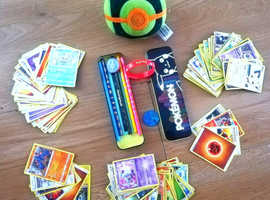 POKEMON BUNDLE - CARDS, PLUSH ECT