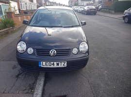 Volkswagen Polo, 2004 (04) Black Hatchback, Manual Diesel, 102,000 miles