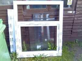 new upvc window with glass beading 65 pound