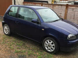 Seat Arosa, 2002 (02) Blue Hatchback, Manual Petrol, 74,000 miles
