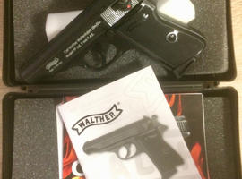 Walther PP 9mm Blank Firing