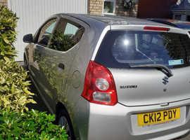 Suzuki Alto, 2012 (12) Silver Hatchback, Manual Petrol, 51,000 miles