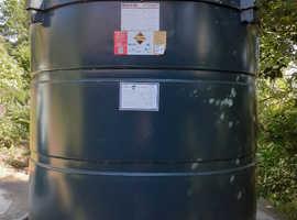 Bunded Oil Tank
