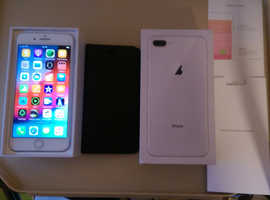 IPHONE 8 PLUS, 64Gb ON o2, 4 MONTHS OLD, AS NEW CONDITION