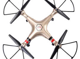 COSTWAY Syma X8HW Quadcopter Drone with HD Camera (TY556360)