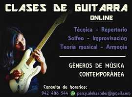 Guitar lessons online
