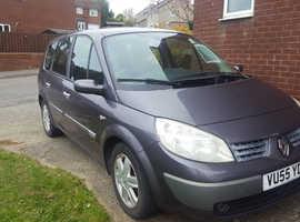 Renault Megane, 2005 (55) Silver MPV, Manual Petrol, 149,000 miles