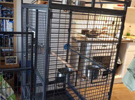 Parrot cage large used