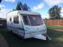 Bargain Abbey GTS Vouge 215 (2004) & Motor Mover 2 Berth Excellent Condition & Full Size Awning