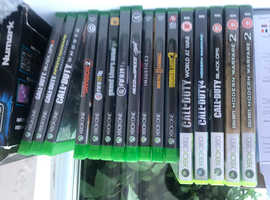 Xbox one 500gb 16 games wireless turtle beach