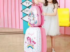 Costway Children's Lightweight Luggage Set 36495712
