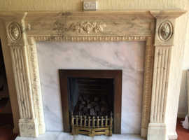 Hearth and back plate requiring a new fire