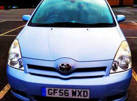 Toyota Corolla, 2006 (56) blue mpv, Manual Diesel, 152,000 miles