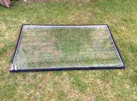 Free, clear double glazed unit