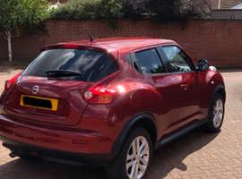 Nissan Juke, 2012 (12) Red Hatchback, Manual Petrol, 44,275 miles