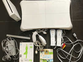 Nintendo Wii Console & Wii Fit bundle