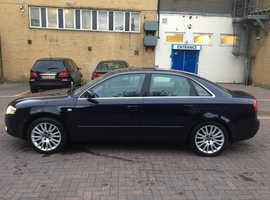 Audi A4, 2006 (06) Blue Saloon, Manual Diesel, 132,000 miles