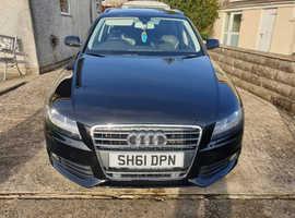 Audi A4, 2011 (61) Black Estate, Cvt Diesel, 149,950 miles