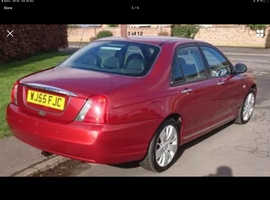 Rover 75, 2005 (55) Red Saloon, Automatic Diesel, 120,000 miles