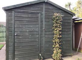 Large shed or workshop.