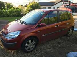 Renault Megane, 2006 (06) Red MPV, Manual Petrol, 112,000 miles