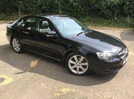Subaru Legacy, 2005 (05) black saloon, Manual Petrol, 142,000 miles