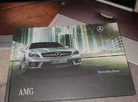 Mercedes hardback dealer catalogues.
