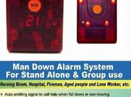 Lone Worker /  Man Down Panic Alarm System